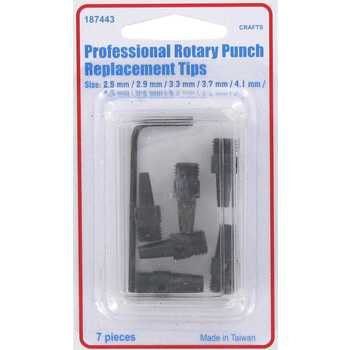 Professional Rotary Punch Replacement Tips